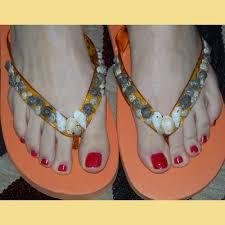 seashell flip flops seashell flip flops wedding tips and inspiration
