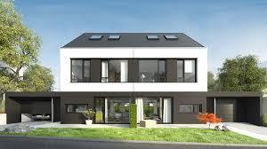 Doppelhaus Doppelhaus Bierstadt Domineo Architekturbüro Für Visionen