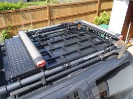 nissan pathfinder roof rails drop in roof rack surf and snow u0027s version with integrated lock