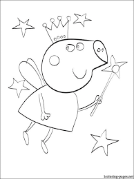 peppa 5 pig coloring pages