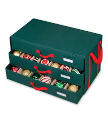 christmas ornament storage christmas ornament storage chest with drawers storage helpers