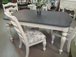 white and gray dining table paint dining chairs white sougi me