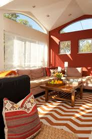 Brown Red And Orange Home Decor How To Decorate Around A Red Wall Aol Finance