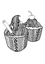 cupcake coloring pages to print 82 best cupcakes cakes coloring pages for adults images on