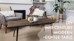 modern living room tables diy mid century modern coffee table the drill down with the