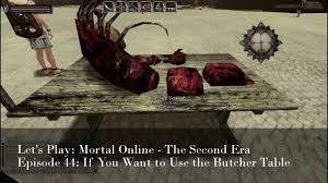 episode 44 if you want to use the butcher table let u0027s play