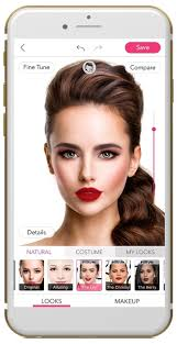 hair and makeup app youcam makeup delivers carpet looks with beauty