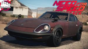 need for speed payback derelict wrack nissan 240z alle