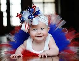 fourth of july hair bows july 4th the top hair bow
