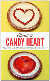 grow a candy heart valentine steam activity for kids gift of