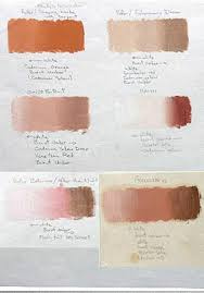 skin tone chart wedding art skin colors pinterest painting