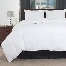 Home Design Down Alternative Color Comforters Amazon Com Full Queen Comforter White Goose Down Alternative