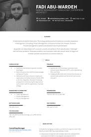 Supply Chain Manager Resume Example by Consulting Resume Samples Visualcv Resume Samples Database
