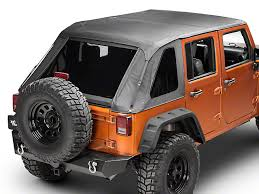 jeep wrangler unlimited softtop barricade wrangler frameless 2 in 1 top black