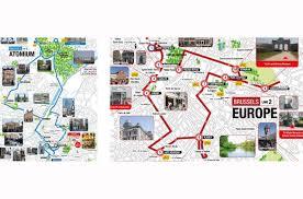 Notre Dame Campus Map Hop On Hop Off Bustour Brüssel City Sightseeing