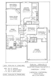 3 car garage floor plans
