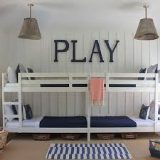 Ikea Bunk Beds Contemporary Boys Room Sherwin Williams - Ikea mydal bunk bed