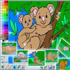 dessiner en ligne et colorier ces dessins de noel