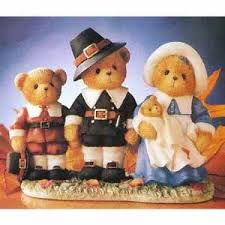 thanksgiving pilgrim figurines pilgrim family cherished teddies figurines 707031