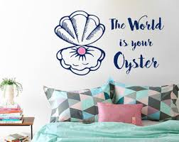 Pearl Home Decor Pearl Decal Etsy