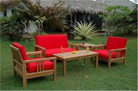 Bjs Patio Furniture by Teak Patio Furniture For Outdoor Front Yard Landscaping Ideas