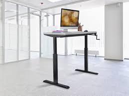 table charming sit stand height adjustable desk frame workstation