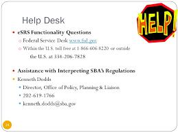federal service help desk ms angela terry 202 angela subcontracting presentation june 9
