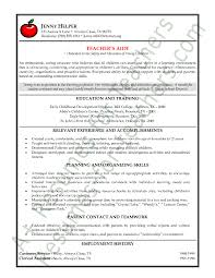 Special Education Resume Examples by Resume Example For Teachers 8 Preschool Teacher Resume Sample