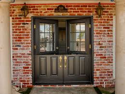 Double Glazed Wooden Front Doors by Front Doors Stupendous Black Double Front Door Black Double