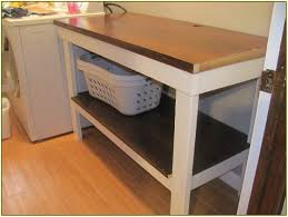 Laundry Laundry Folding Table With Drawers Together With Counter