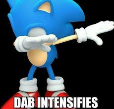 Dab Meme - dab meme sonic the hedgehog amino