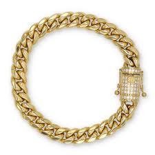 cuban chain bracelet images Back to the future llc cuban link necklace bracelet set gold jpg