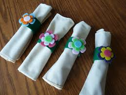 make it easy crafts easy kids u0027s craft spring flowery napkin