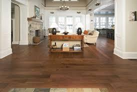 distressed hardwood flooring living room robinson house