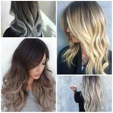 umbra hair ash blonde ombre hair colors for 2017 best hair color ideas