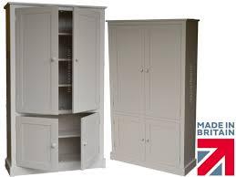 kitchen cupboard storage ideas ebay ebay 550 contemporary 4 door painted pantry linen bathroom