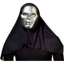Dr Doom Mask Silver Chrome Doctor Dr Doom Halloween Costume Evil Robot