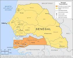 Dakar Senegal Map Smartraveller Gov Au Senegal