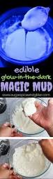 2 ingredient edible glowing magic mud sugar spice and glitter