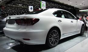 lexus ls custom file lexus ls 600h facelift rear quarter jpg wikimedia commons