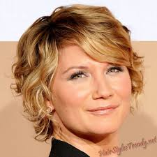 short hairstyle for older women with curly hair long curly