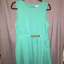 j lo turquoise dress size xl jennifer lopez dress jennifer