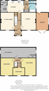 Simpsons Floor Plan 3 Bedroom Detached House For Sale In Lilac House Overton Lane