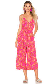 pink jumpsuit womens free tropics jumpsuit pink combo womens free