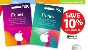 itunes cards on sale save 10 at drugs superstore u