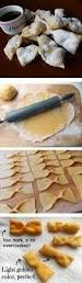 polish chrusciki recipe also called angel wings light as air and