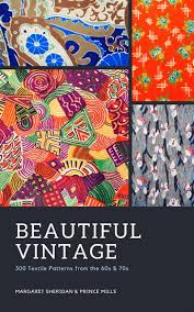ebook cover design colourful vintage textile designs collage ebook cover templates