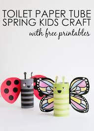 spring kids craft project nursery