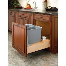 Plastic Kitchen Cabinet Doors Kitchen Cabinet Trash Can Trash Cans Trash Can Cabinet Plans