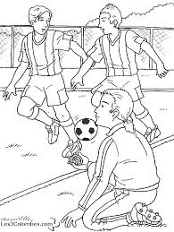 dessin ã colorier tv football
